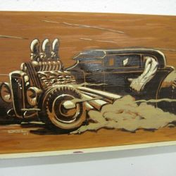 Del Swanson Coupe on Wood